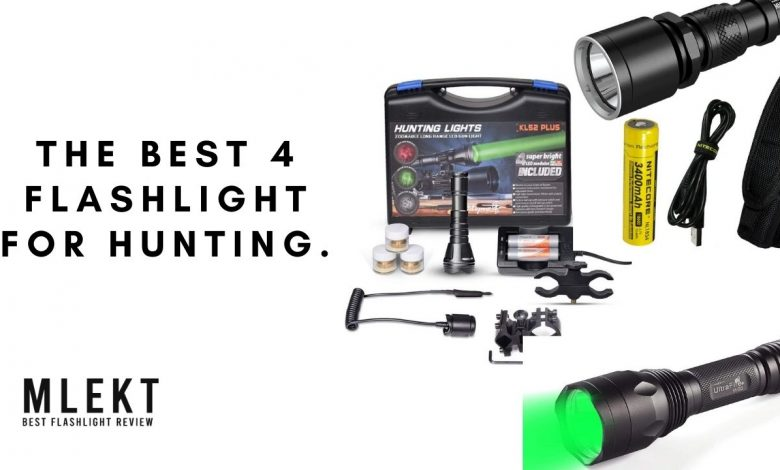 Best flashlight 4 780x470 - The best flashlight for hunting