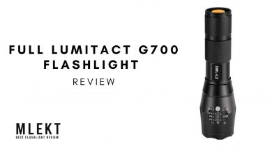 Full lumitact g700 flashlight review