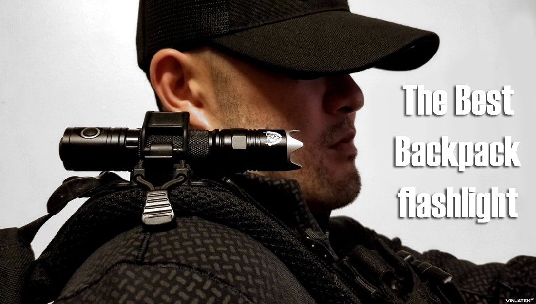 the best backpack flashlight